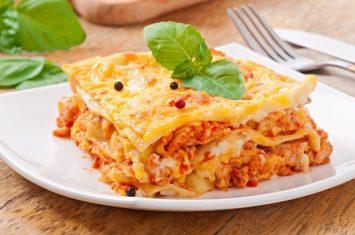 klassieke lasagne bolognese